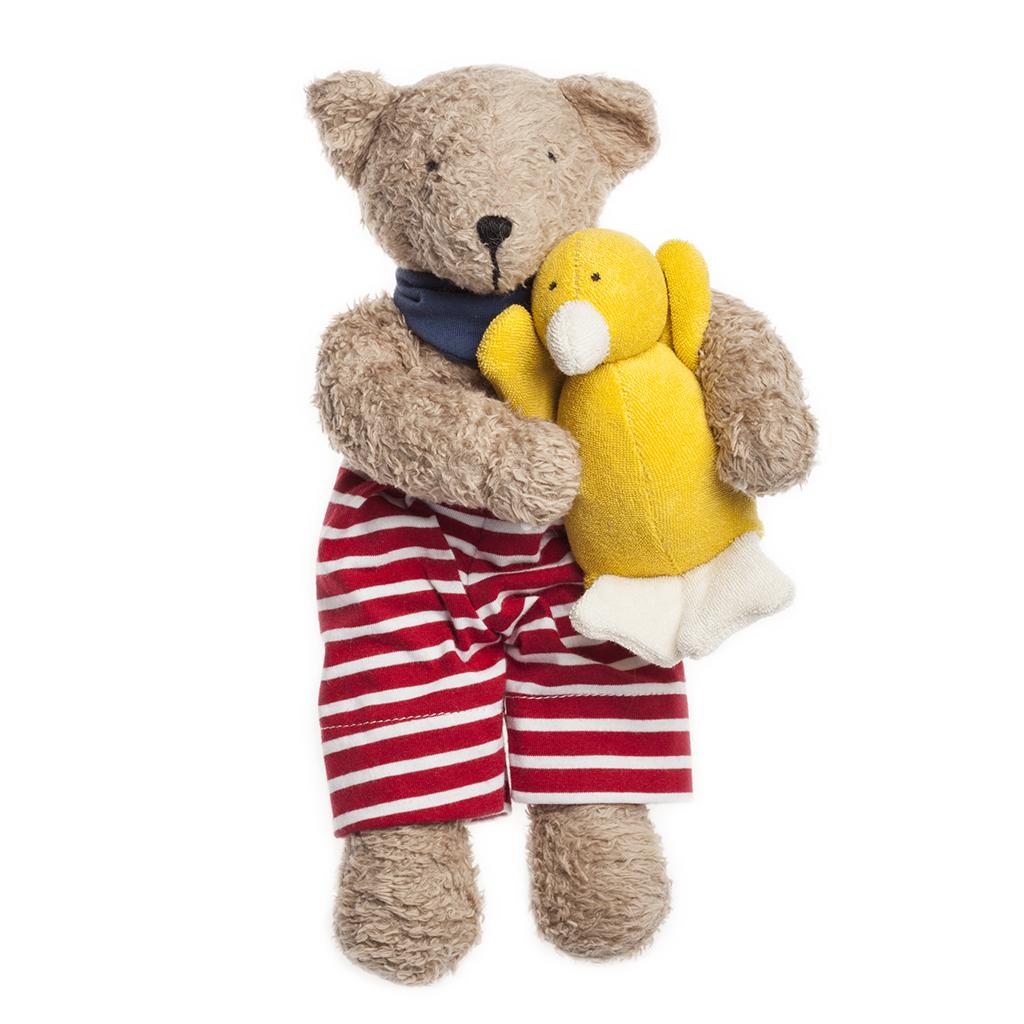 nanchen Bio Seebär Teddy mit Hose | greenstories