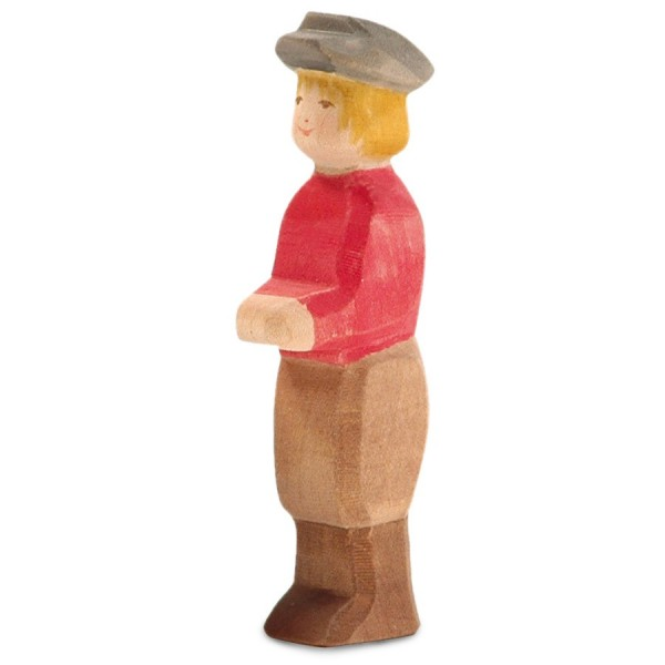 Sohn Holzfigur 12 cm hoch