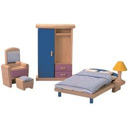 Zubehör Neo fürs Puppenhaus - Schlafzimmer