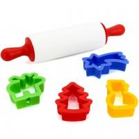 Spielküchenzubehör lebensmittelecht – Plätzchenset 5-tlg.