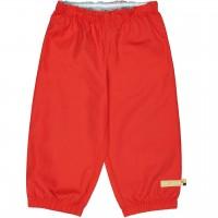 Leichte Outdoorhose schmutzabweisend in rot