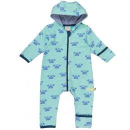 Baby Overall kuschelig und leicht grün
