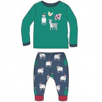 Baby Bio Schlafanzug Schäfchen