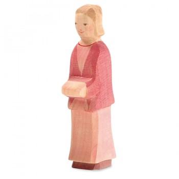 Mutter Holzfigur 14,4 cm hoch