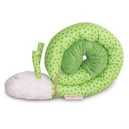 Puckschnecke Babynest grün Punkte