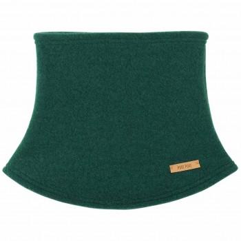 Warmer weicher Fleece Schlauchschal grün