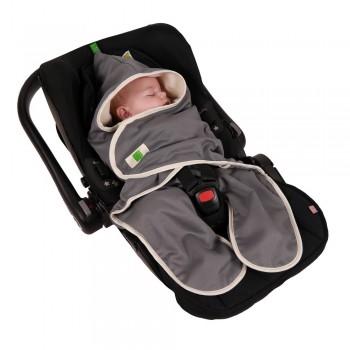 Bio Einschlagdecke für Babyschale & Autositz