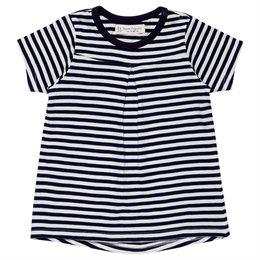 Bio Mädchen T-Shirt leicht cooles monochrom