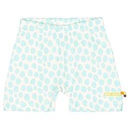 Leichte Shorts Geparden-Muster hellblau