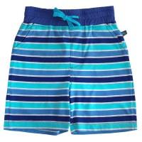 Shorts Streifen blau-navy