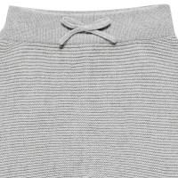 Vorschau: Baby Strickhose aus hochwertiger Biobaumwolle - neutral grau