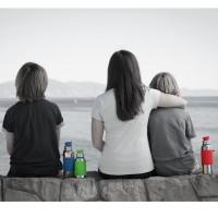 Vorschau: Pura Edelstahl Trinkflasche Sportverschluss 550 ml blau