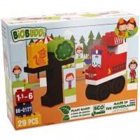 Bio Bausteine Set ab 18 Monaten – Feuerwehrauto