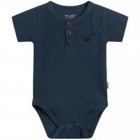 Struktur Body Kurzarm in navy