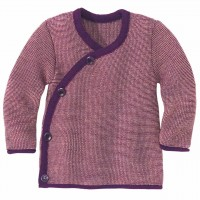 Wickeljacke Baby in lila