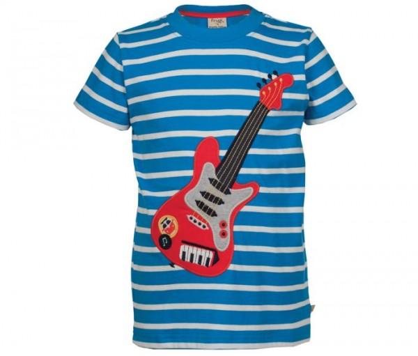 Cooles BIO Shirt für Jungen mit E-Gitarre - Let´s rock!