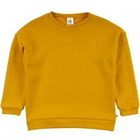 Robustes Sweatshirt senf