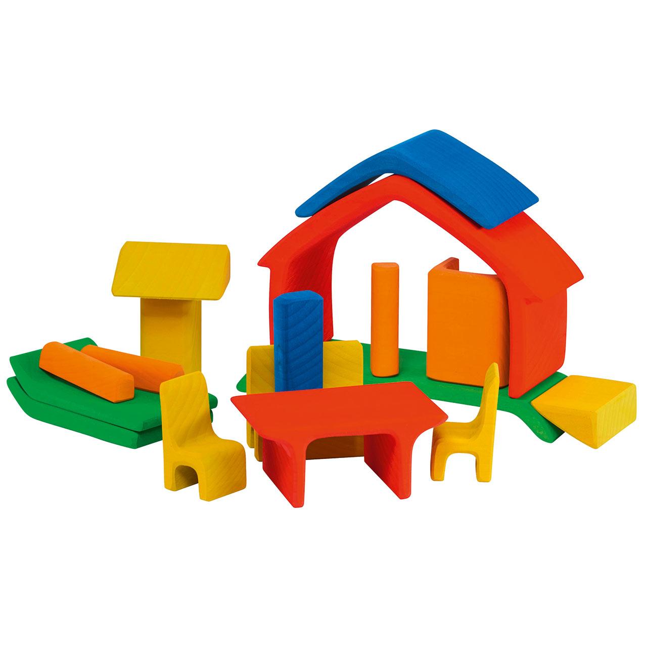m belhaus to go kleines puppenhaus f r gro en spielspa greenstories. Black Bedroom Furniture Sets. Home Design Ideas