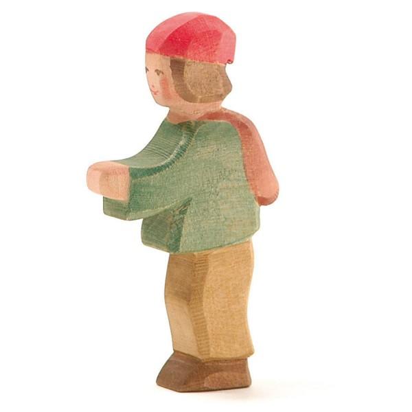 Hirtenbub Holzfigur 11 cm hoch