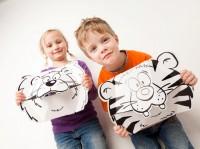Vorschau: Masken - Löwe und Tiger zum Stecken, malen & spielen