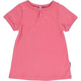Kurzarm Shirt A-Linie pink