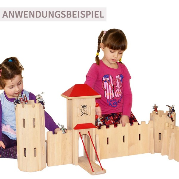 Ritterburg Schloss gross 70 x 70 x 48 cm