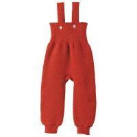 Vorschau: Baby Hose warm hochwertige Wolle rot