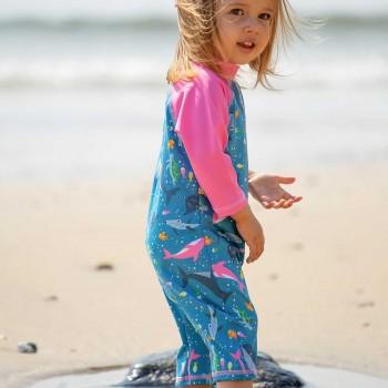 Bade- Strandanzug Meerestiere