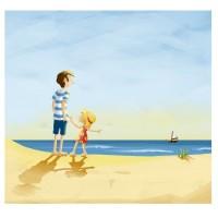 Vorschau: Komm, wir gehen näher ran! Pflanzlich gefärbtes Buch - Meer