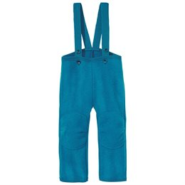 Walkhose super warme Schurwolle blau