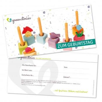 """Geschenkgutschein """"Zum Geburtstag"""""""