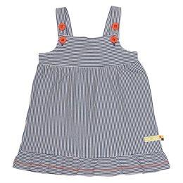 Bio Sommer Mädchenkleid marine