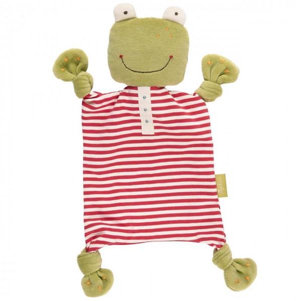 sigikid Green Collection Schnuffeltuch Frosch Schmusetuch Schnuffel Tuch Baby
