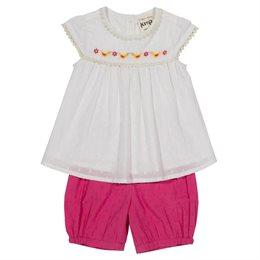 Baby Set Tunika mit Shorts - leicht luftig