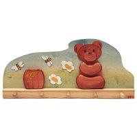 Kindergarderobe Honigbär 60 x 9,5 x 27 cm