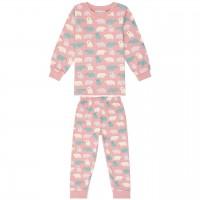 Schlafanzug mit Arm- und Fussbündchen - Eisbär