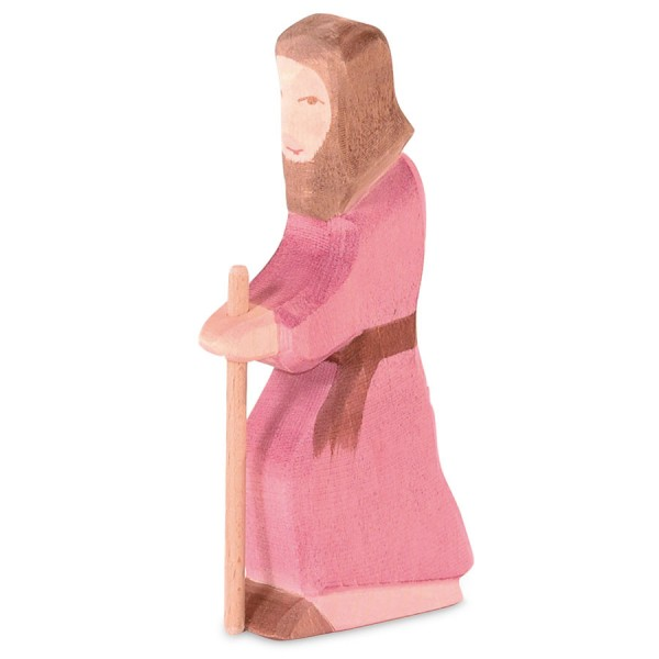 Josef Krippenfigur Holzfigur 14,5 cm hoch