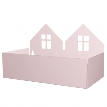 Box für Aufbewahrung und Ordnung - rosa