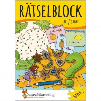Rätselblock – Rätselspaß für Kinder ab 7 Jahre Bd 2
