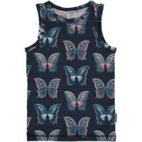 Unterhemd Mädchen Schmetterlinge