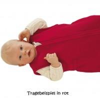 Vorschau: Ganzjahres Baby Schlafsack Schurwolle rosa
