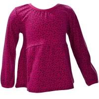 Vorschau: Herbst Langarmshirt mit Haselnüssen und Pilzen in pink