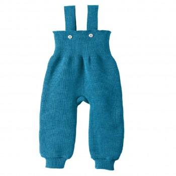 Warme hochwertige Trägerhose blau