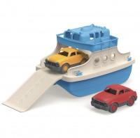 Vorschau: robuste Fähre mit Autos für Wasser- & Sandspiele