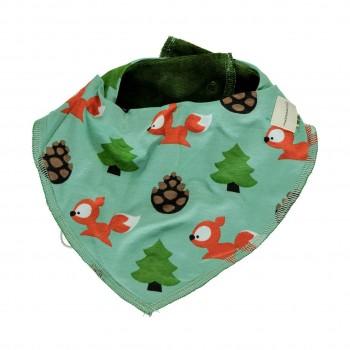 Warmes Eichhörnchen Dreiecktuch in grün
