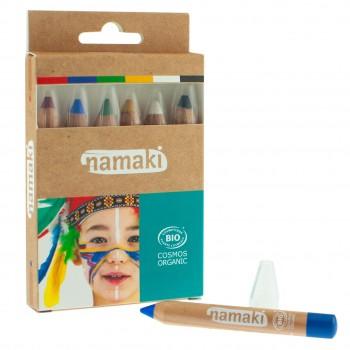 Kinder Schminkstifte Bio – 6 Farben