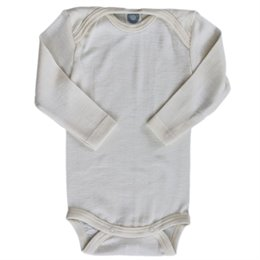 Beliebter Klassiker Wolle Seide Body von Cosilana ungefärbt