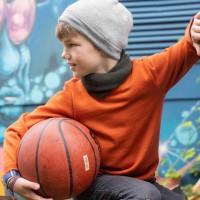 Strick Pullover in orange