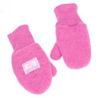 Fäustel mit Daumen Woll Fleece pink