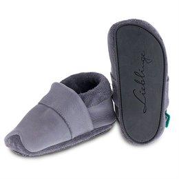 Strassen Schuhe mitwachsend und soft grau